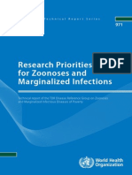 (2012) Research Priorities for Zoonoses and Marginalized Infections