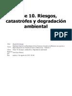Clase 10. Riesgos, Catástrofes y Degradación Ambiental