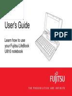 Fujitsu LifeBook U810 Notebook