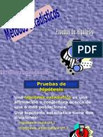 PRUEBA DE HIPOTESIS Estadística