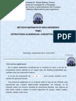 Metodos Matematicos Para Ing's Tema i