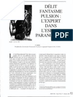 Délit, phantasme, pulsion