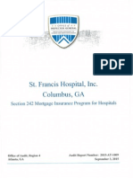 HUD'S final results from St. Francis audit
