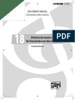 Historia Da Musica II - Do Classicismo Aos Dias de Hoje - Fernanda Bertinato