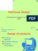 Hothouse Design(Task 3)