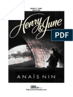 Henry y June Anais Nin