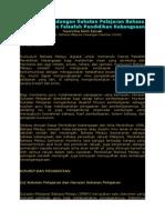 Perkaitan Kandungan Sukatan Pelajaran Bahasa Melayu dengan Falsafah Pendidikan Kebangsaan.docx