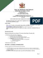 Continuation Classes June 2015 Instructions