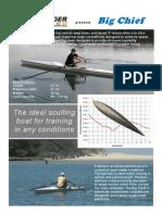 Big Chief - Rowing boat