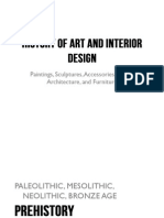 Prehistoric - History of Art and Interior Design