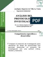 Unidad I-Analisis Del Protocolo de Investigación