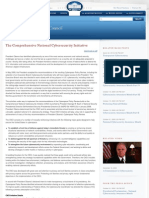 The Comprehensive National Cyber Security Initiative