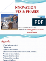 Innovation Types & Phases