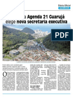 Apresentação Agenda 21 Guarujá