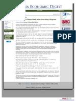 Michael Harris IU Kokomo, Launching New Nursing Degree, Indiana Economic Digest