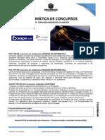 Informática de Concursos - exercícios para INSS e Tribunais (material extra)