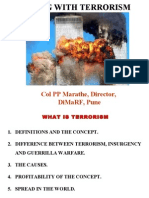 Disaster Management  Dealing With Terrorism