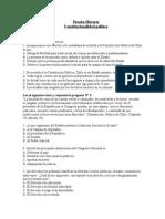 Constitucionalidad politica 6°