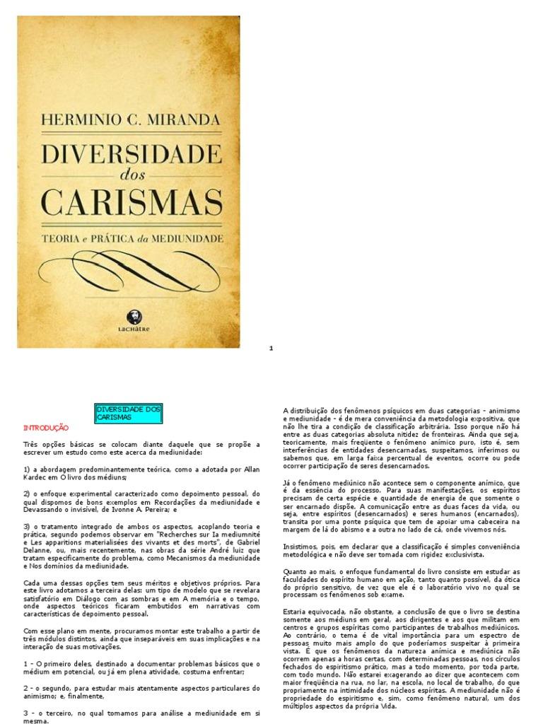 Diversidade Dos Carismas f150cac75dc