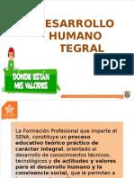 5. Desarrollo Humano Integral
