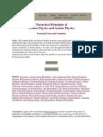 Theoretical Principles of Plasma Physics and Atomic Physics