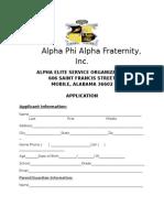 alpha elite application 2015