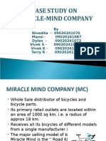 Case Study on Miracle-mind Company