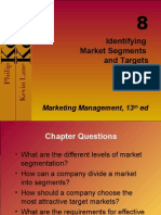 Chapter 8 Identifying Market segment and target