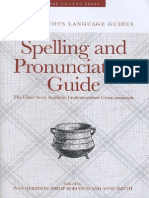 Spelling and Pronunciation Guide