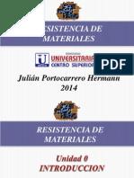 Resistencia de Materiales I Introducción, Cap.1, Cap.2.
