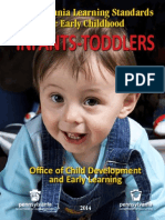 early learning standards - infants and toddlers 2014