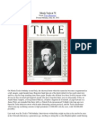 Nikola Tesla at 75 Time Magazine 1931