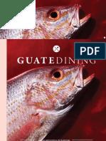 Colaboración en la revista Guatedining - Edición 23 - Febrero 2015