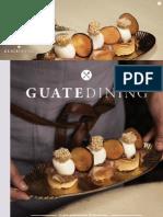 Colaboración en la revista Guatedining - Edición 25 - Junio 2015