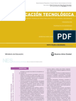 Diseño Curricular - Educación Tecnológica