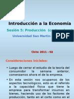 Produccion (Corto y Largo Plazo)