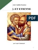 Francisco Candido Xavier Fr Série Historique 03 Paul Et Etienne Yjsp