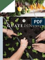 Colaboración en la revista Guatedining - Edición 26 - Agosto 2015