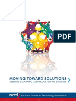 Moving Toward Solutions