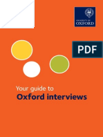 Guide to Oxford Interviews