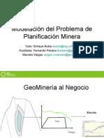 Incertidumbre y La Planificacion Minera BSGRUPO