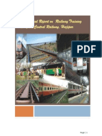 Training Report on Telecommunication and Signal-Indian Railways