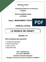 MODELE MC KINSEY