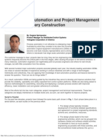 Advanced Automation and Project Management Article