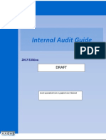 2013 Internal Audit Guide - DRAFT (2)