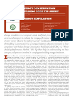 Energy Simulation Final Tip Sheet