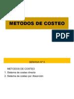 5. Metodos de Costeo