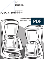 Esx10 Mr. Coffee Instructions
