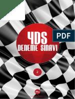 2015 YDS Deneme Sınavı veKelime Listesi