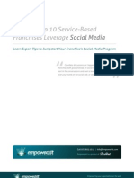 How the Top 10 Service Franchises Leverage Social Media